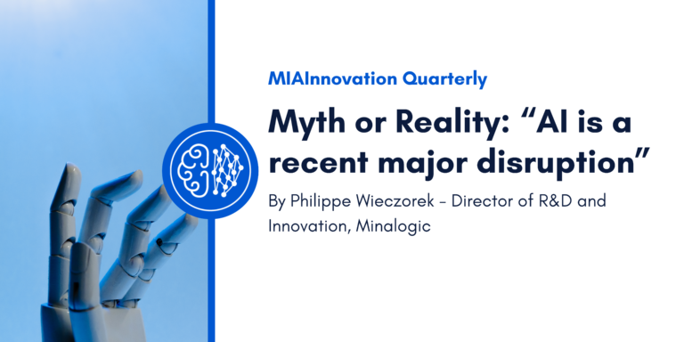 """Myth or Reality: """"AI is a recent major disruption"""""""