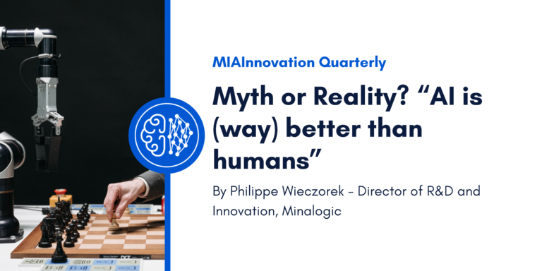 """Myth or Reality? """"AI is (way) better than humans""""."""