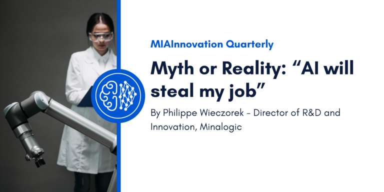 """Myth or Reality: """"AI will steal my job""""."""