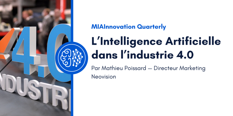 L'Intelligence Artificielle dans l'industrie 4.0