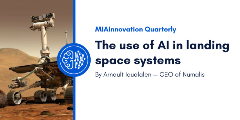 The use of AI in landing space systems